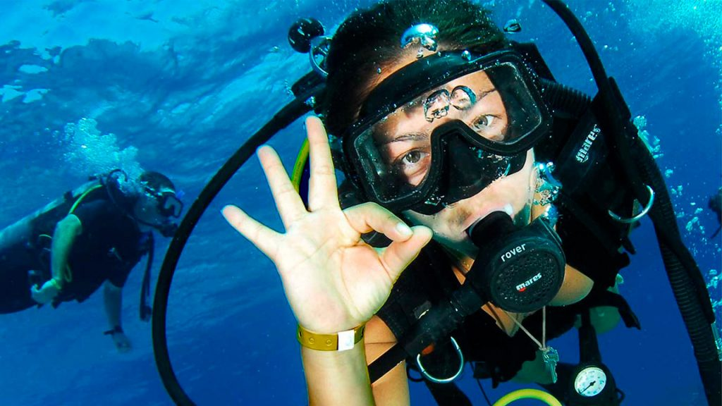 beginner diving courses