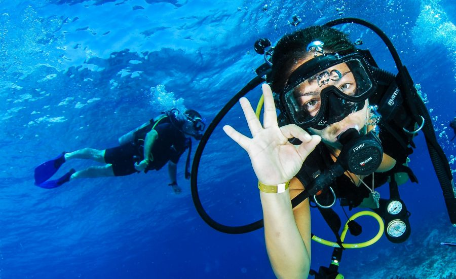 ¡Scuba Diving is a Relaxing Activity!